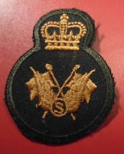 Canadian Armed Forces TRADE communicator supplementary qualification badge Lvl 3