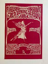Pacific Ballet Dance Poster San Francisco 1967