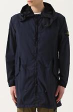 Stone island Garment Dyed Performance Tela Parka Jacket In Navy