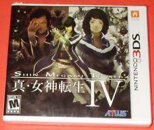 Shin Megami Tensei IV Nintendo 3DS *New! *Factory Sealed! *Free Shipping!