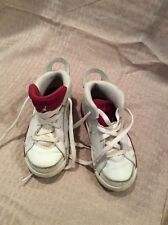 EUC Nike Air Jordans Girls Basketball High top Athletic Shoes Size 9c Color Mult