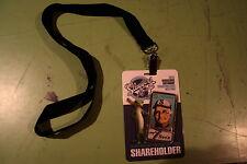 2014 BERKSHIRE HATHAWAY SHAREHOLDERS MEETING ADMISSION CREDENTIAL warren buffett