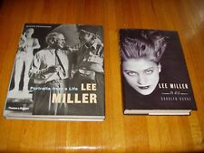 Photographer Lee Miller books x 2 - A Life & Portraits From a Life