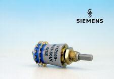 SIEMENS Ø17mm 1 Deck 1 Pole 6 Positions BREAK Rotary Switch 1P6T 100V 5W 0.5A