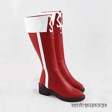 Puella Magi Madoka Magica Kyoko Sakura Cosplay Shoes Boots
