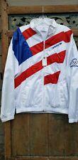 Vintage 1988 USA Olympic Team Calgary Adidas Jacket Size M Rare AMERICAN FLAG