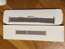 Authentic Original Apple Watch Pink Sand Sport Loop Band 38/40mm