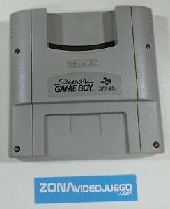 Cartucho Super Game Boy, Nintendo Super Nintendo, SNSP-027, muy buen estado.