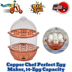 Copper Chef Perfect Precise & Effortless Automatic Egg Maker 14-Egg Capacity