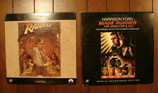 2 Harrison Ford widesceen Laserdisc Raiders of the Lost Ark & Blade Runner