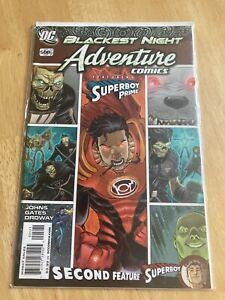Adventure Comics 508 (2010) Blackest Night DC Superboy