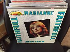 Marianne Faithfull Super Star vinyl LP NM ITALY Import 1982