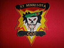 Vietnam War Patch RT MINNESOTA CCC RECON MACV-SOG 5th Special Forces Group