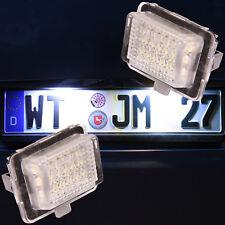 Led Kennzeichenbeleuchtung Mercedes C E Klasse W204 S204 C204 W212 S212 [7204]