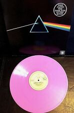Pink Floyd ~ The Dark Side Of The Moon ~ Ltd Ed Pink Marbled Vinyl LP ~ New/Mint