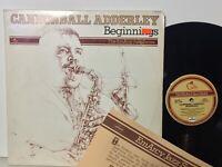 Cannonball Adderley Beginnings NM/EX 2LP w/INSERT John Coltrane Horace Silver