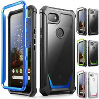 Poetic Shockproof Case For Google Pixel 3a XL Cover Anti-Slip w/Screen Protector
