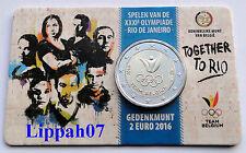 België speciale 2 euro 2016 Olympische Spelen Rio in Coincard Vlaams