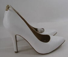 """new ladies Womens White 4.5"""" Stiletto High Heel Pointy Toe Sexy Shoes Size 6.5"""