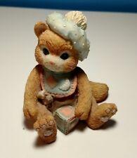 "Vintage Enesco Calico Kittens ""A Bundle of Love"" 1992 P. Hillman #628433"