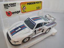 Die-Cast-Metal Bburago Porsche 935 TT Cod.0142 1:24 OVP!!!