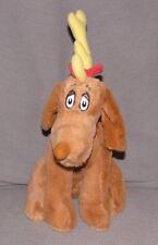 "KOHL'S CARES Soft Stuffed Dr Seuss Grinch MAX DOG Plush/Toy Brown 14"""