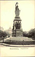 BRAUNSCHWEIG ~1900 Strassen Partie am Siegesdenkmal Sieg Denkmal Niedersachsen