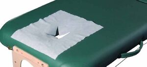 Disposable Non Woven Face Rest Cover Sheets for beauty massage 100pcs