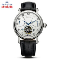Seagull Men's Automatic watch Flying wheel Multi-function Dual calendar Business