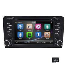 "7"" HD Car Stereo DVD Player NAVI GPS Radio Bluetooth Screen Mirroring AUDI A3 S3"