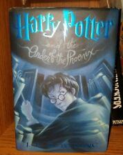 Harry Potter And The order of the phoenix, JK Rowling 1st American Edition 2003