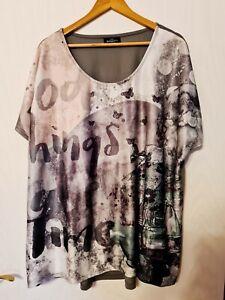 Tunika Shirt 52/54 Gina Benotti