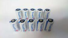 10x TrustFire WF cr123a cr123 3,0 Volt Litio Foto Batteria Batterie cr-123a