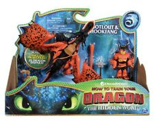 How To Train Your Dragon - SNOTLOUT & HOOKFANG - Action Figure Set NEW