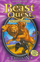 Beast quest.: Trillion the Three-Headed Lion by Adam Blade (Paperback)