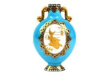 More details for antique coalport aesthetic period koi fish vase circa 1880