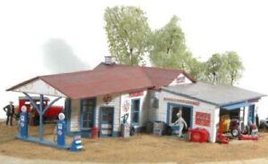 JL INNOVATIVE 591 HO Marble Rock Garage Building Kit Model Train NEW FREE SHIP