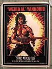 Weird Al Yankovic UHF Rambo Strings Attached Tour Print Poster Mondo Tim Doyle