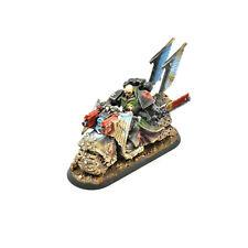 DARK ANGELS Captain on bike #1 WELL PAINTED Warhammer 40K Eldar
