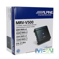 *NEW* ALPINE MRV-V500 5-CHANNEL V-POWER DIGITAL CAR AUDIO AMPLIFIER AMP MRVV500