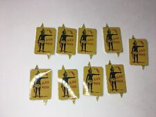 ANTIQUE BLACK MARIA TOBACCO TAGS LOT ALL MINT CONDITION