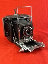 New ListingBusch Pressman 2¼ x 3¼ View Camera with 101mm f4.5 Wollensak Lens
