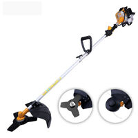 X-BULL 28cc Gasoline Powered Grass Trimmer Straight Shaft Gas WeederEater Cutter