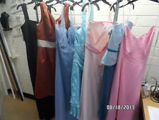 Lot of 7 Bridesmaids, Prom, Formal, Special Occasion Dresses Asst Styles & Sizes
