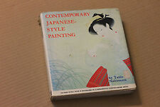 CONTEMPORARY JAPANESE STYLE PAINTING by Tanio Nakamura, 1969, hc