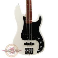 Brand New Fender Deluxe Active Precision Bass Special Pau Ferro in Olympic White