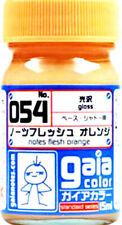 Gaia Color 054 Notes Flesh Orange Gundam Model Kit Paint 15ml New Free Ship
