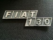 FIAT 130 CROMODORA REAR BADGE EMBLEM PININFARINA