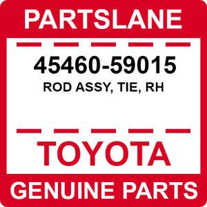 LEXUS GENUINE GS300 LS400 SC430 OEM NEW FRONT (RH) OUTER TIE END ROD 45460-59015