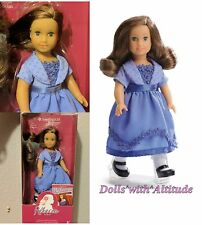 """American Girl Rebecca 2016 Special Edition Mini 6.5"""" Doll NEW Holiday Outfit"""